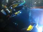 solda submersa